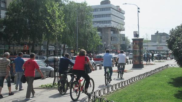 Bicikle za kruševačke osnovce – GRAD Kruševac